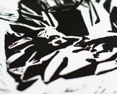 projet - Linogravure